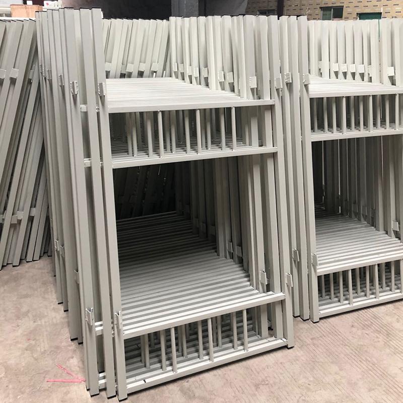 上下铺双层铁架床 员工宿舍床学校床